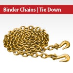 Binder Chains | Tiedown