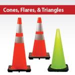 Cones, Flares, Triangles