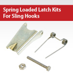 Spring Loaded Latch Kits For Sling Hooks
