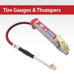 Tire Gauges & Thumpers