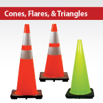 Cones, Flares, Triangles