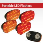 Portable LED Flashers