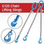 G120 Chain Lifting Slings w/Sling or Grab Hooks