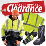 Clearance Safety Apparel