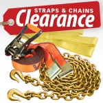 Clearance Straps & Chains
