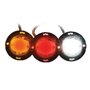 Custer 10-Watt LED Button Strobes