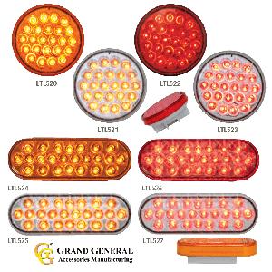 Grand General Pearl LED Strobing Lights