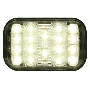 LED Back Up Light Grommett Mount Rectangular