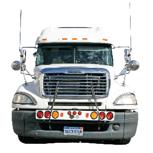 Wide Load Light Bar with Flashers