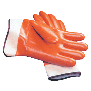Rubber-Coated Safety Work Gloves (pair) - One Size Fits All