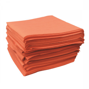 Red Spunlace Heavy Duty Wipes