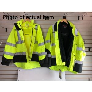 High Visibility Parkas - Scratch And Dent