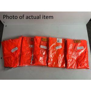 Class 3 Mesh Vest - Orange - 4XL - Scratch And Dent