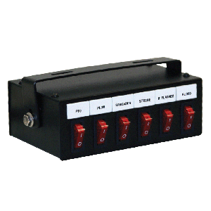 Six Function Illuminated Switch Box
