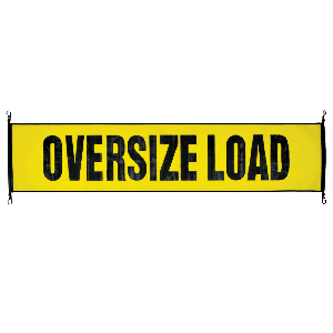 VULCAN Stretch Cord Oversize & Wide Load Signs