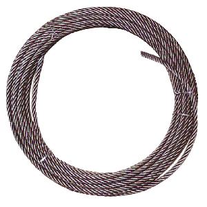 BEST VALUE! Steel-Core Winch Cables - Plain End