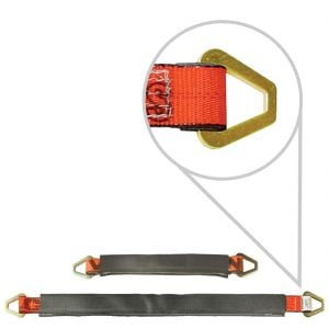 VULCAN PROSeries 3 ply 2'' Axle Straps with Wear Pads