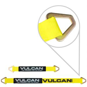 VULCAN Classic Yellow Single Ply 2'' Axle Straps