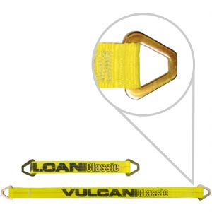 VULCAN Classic Yellow 3 Ply 2'' Axle Straps