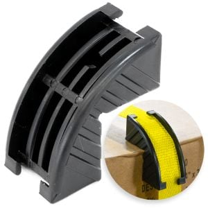 VULCAN Plastic Corner Protector - For Webbing And Strapping Up To 1 Inch - Bag of 50