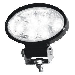 Buyers 1350 Lumen Clear Oval Flood Light