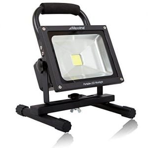 MAXXIMA Portable, Rechargeable Medium LED Work Light