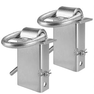 VULCAN Silver Stake Pocket D-Ring Assembly - 2 Pack