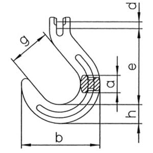 Grade 100 Clevis Foundry Hooks