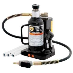 OMEGA Heavy-Duty Hydraulic Air-Actuated Bottle Jacks