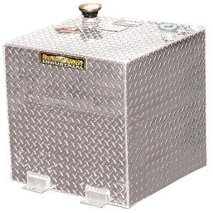 Square Aluminum Fuel Transfer Tank - 50 Gallon