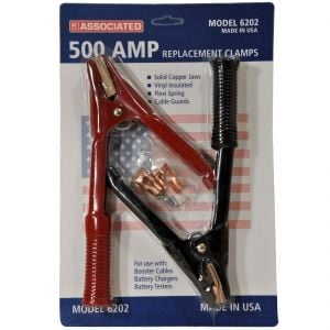 500 Amp Booster Clamps for Super-Duty Jump Start Kit