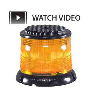 NAS Megaburst 5.5'' Amber LED Beacon
