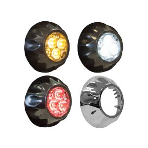 Buyers Round LED Surface Mount Strobe Lights
