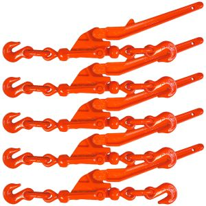 VULCAN Load Binder - Safety Release Lever-Style - 5 Pack - 6,600 Pound Safe Working Load