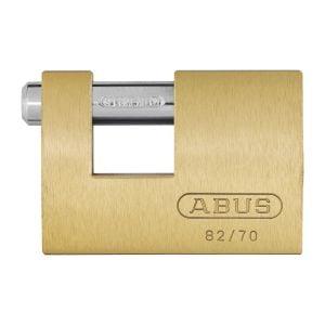 ABUS Monoblock 82 Brass Padlocks
