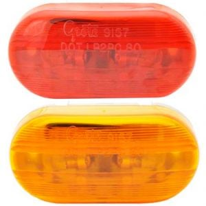 Clearance/Marker 2 Lamp Oval Incandescents (smooth)