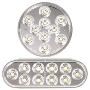 Round and Oval LED Back-Up Lights