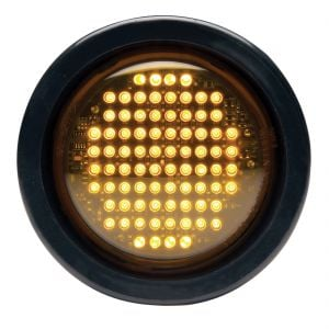 "SmartLED® Amber Warning Light - 4"" Round"