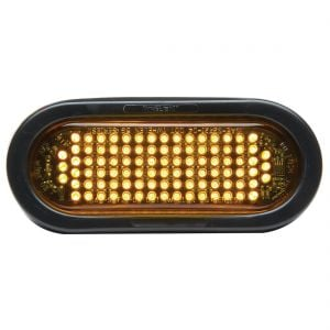 "SmartLED® Amber Warning Light - 6"" Oval"