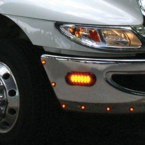 """SmartLED® Amber Warning Light - 6"""" Oval"""