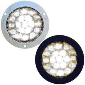 """4"""" Round White LED Lights"""