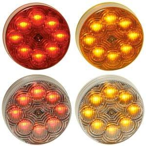 MAXXIMA 2.5 Inch 8-LED Marker Lights