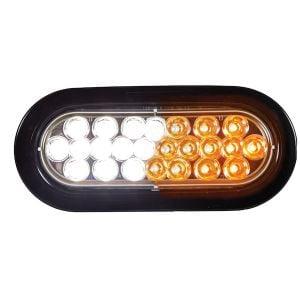 6 Inch Quad Flash Oval LED Recessed Strobe Light Series