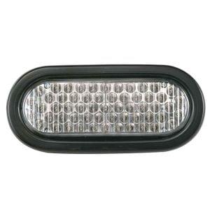 """Flashing LED Warning Light - 6"""" Oval"""