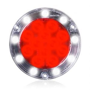 Hybrid LED Round Stop Turn Tail and Backup Light