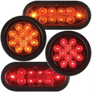 Round And Oval Super Flux LED Lights