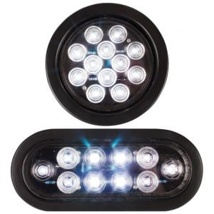 Round and Oval Super Flux LED Reverse Lights