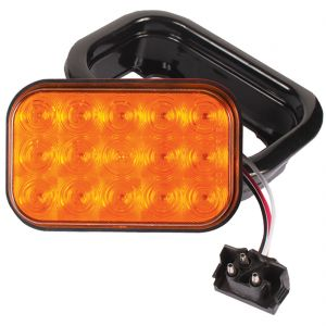 "5.5"" Rectangle Stop/Turn/Tail Light (15 LEDs, amber)"