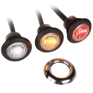 "Custer Button Style 3/4"" LED Marker Lights"