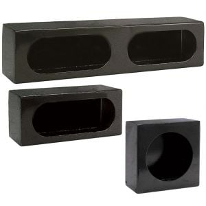 Enclosed Light-Mounting Boxes - Black Steel